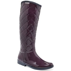 Tommy Hilfiger purple quilted rain boots sZ 9 NWOT